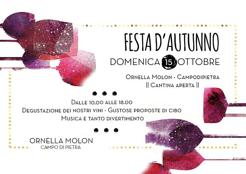 Festa d'autunno 2017 da Ornella Molon Ornella Molon